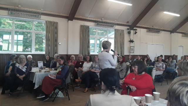 Garioch Women for change conference, Logie Durno, Aberdeenshire (morning)