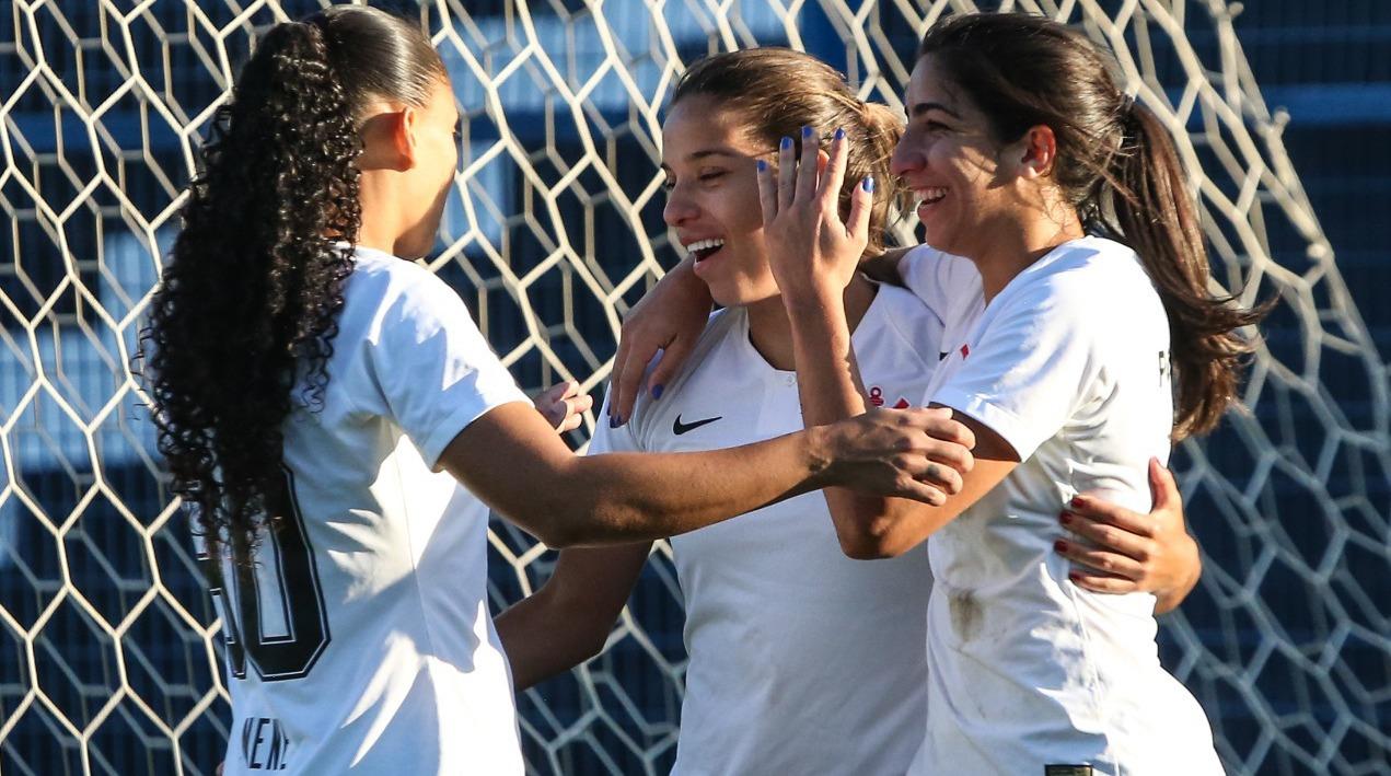 Bastidores e Gol - Ponte Preta 0x1 Corinthians - Brasileirão Feminino 2018