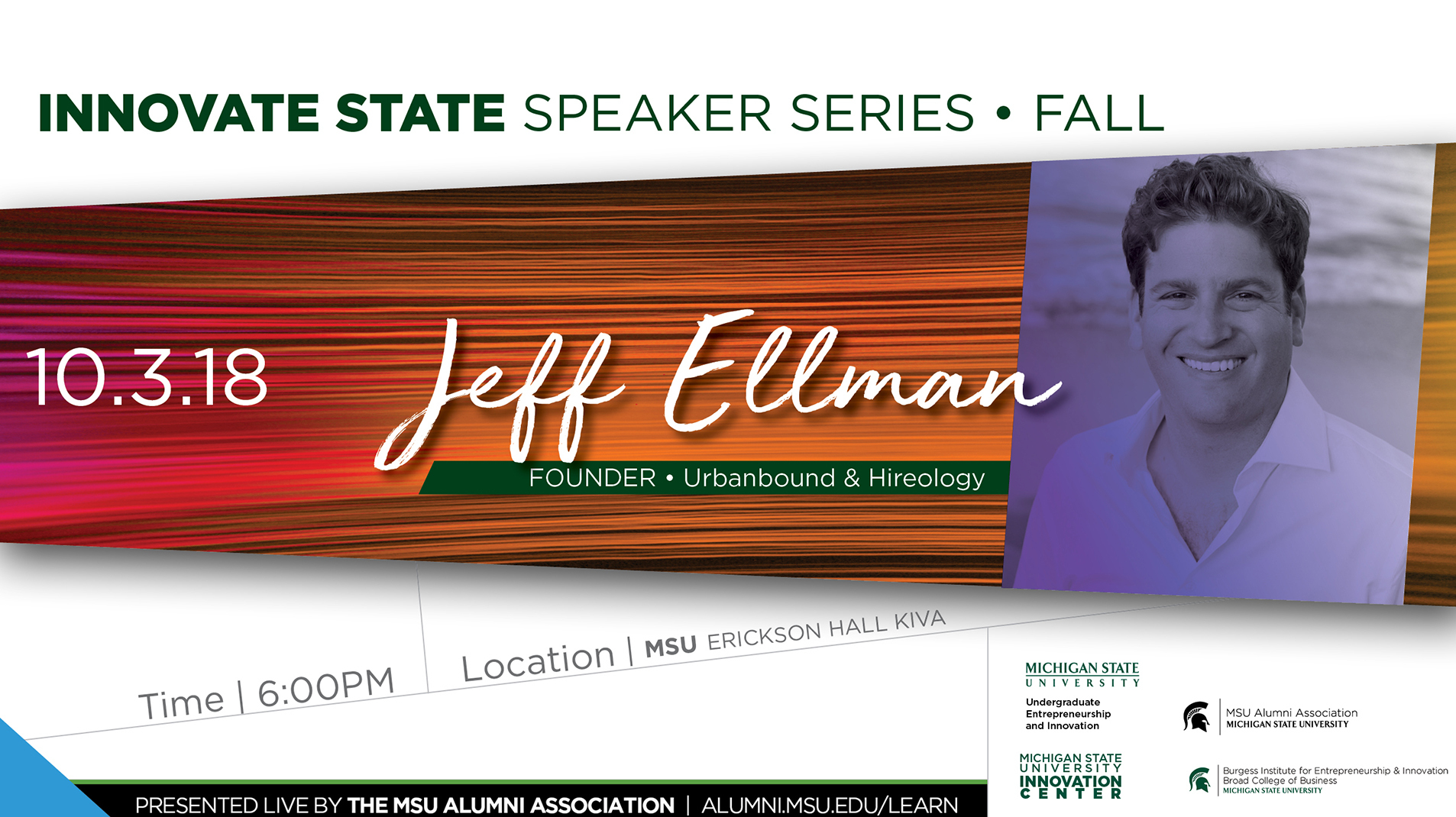 livestream cover image for Innovate State | Jeff Ellman