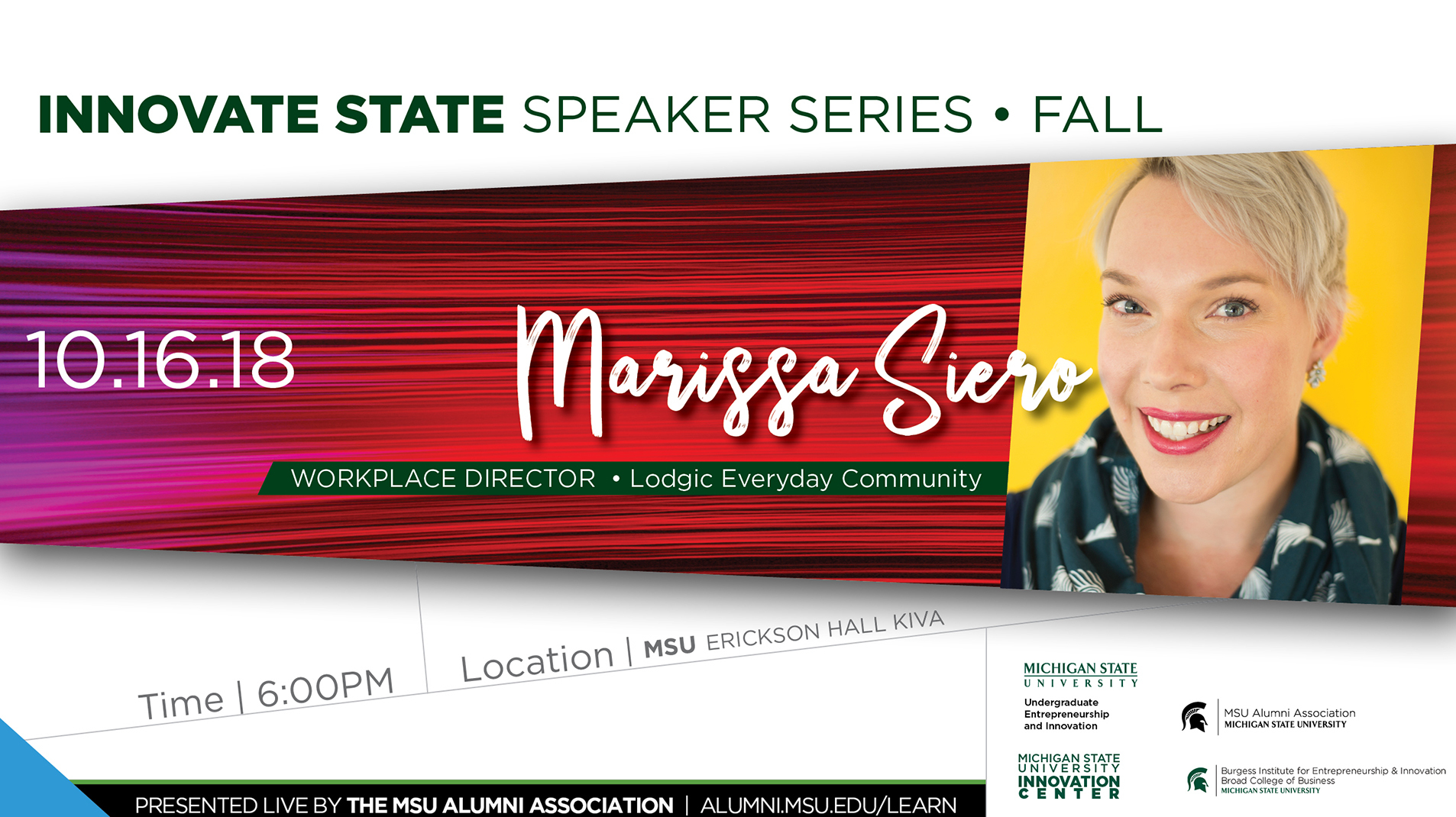 livestream cover image for Innovate State | Marissa Siero