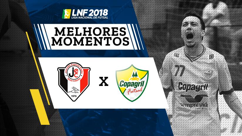 Melhores momentos de Joinville vs Copagril