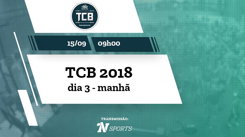 TCB 2018 | sábado | manhã