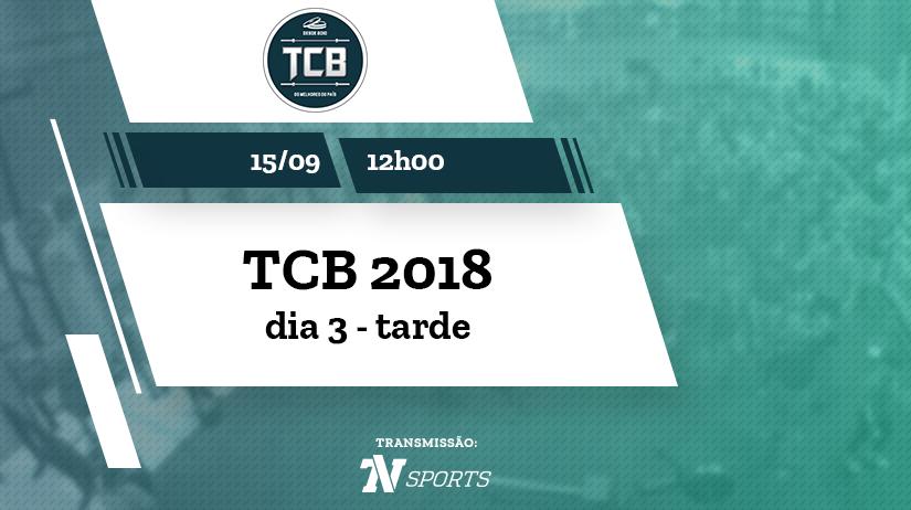 TCB 2018 | sábado | tarde