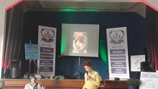 Garioch Women for Change conference, Logie Durno, Aberdeenshire (afternoon)
