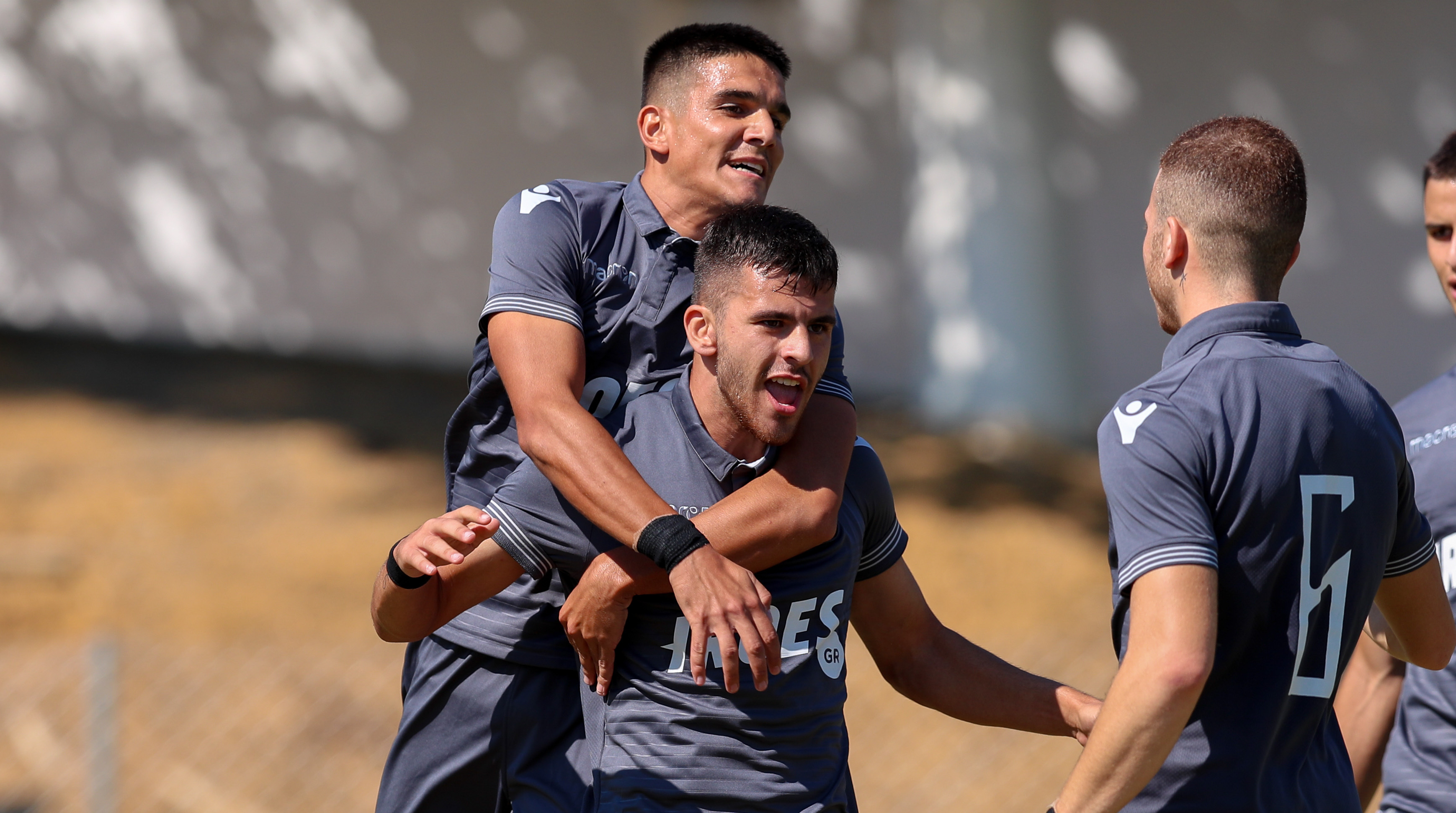 Моменты матча U-19 ОФИ-ΠΑΟΚ