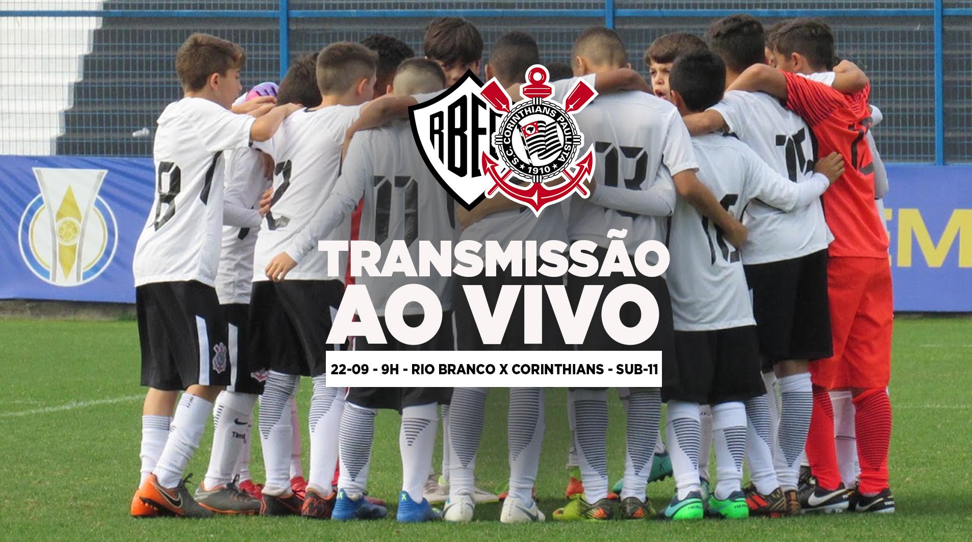 Rio Branco x Corinthians - Paulistão Sub-11 2018