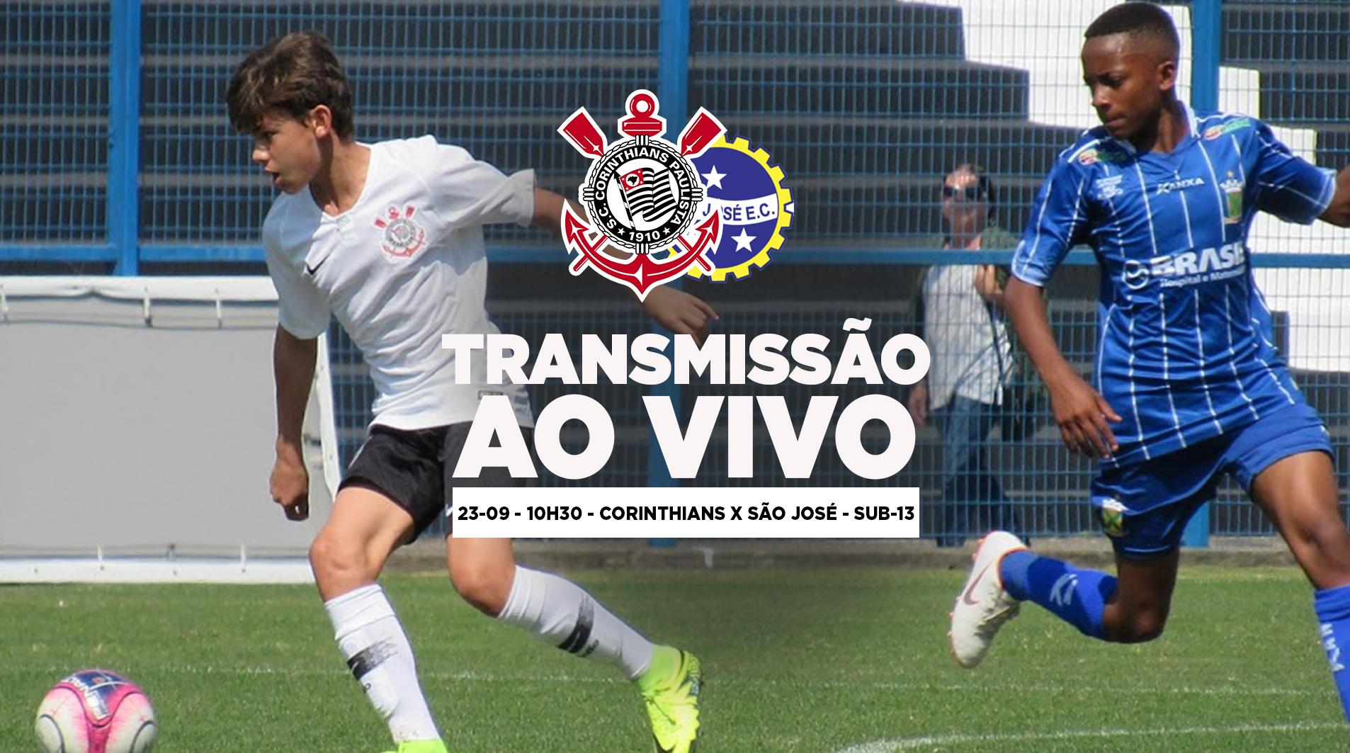 Corinthians x São José - Paulistão Sub-13 2018