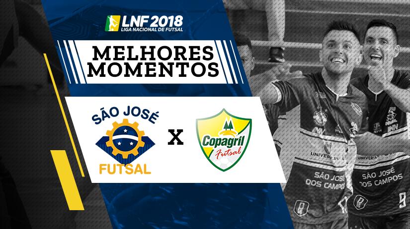 Melhores momentos de São José vs Copagril