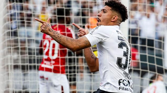 Gol - Corinthians 1x1 Internacional - Brasileirão 2018