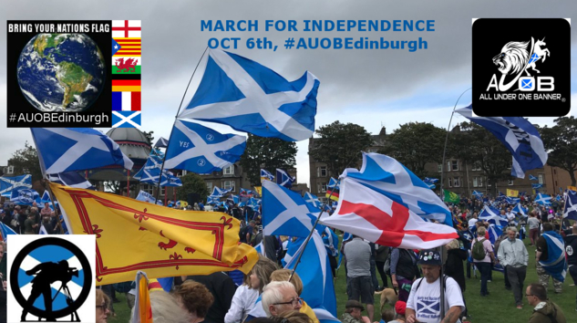 AUOB Edinburgh, Cam2 Front of march