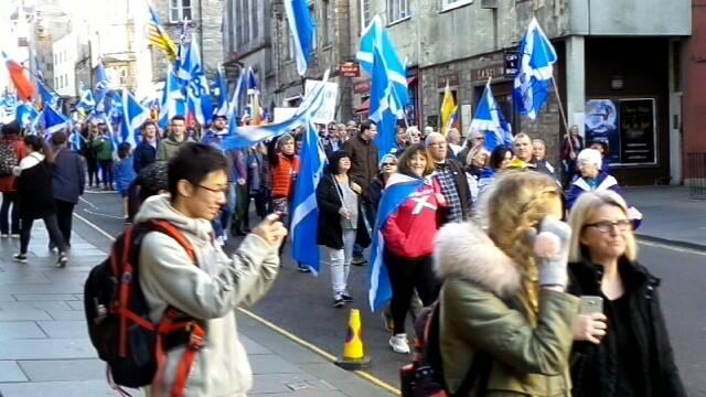 AUOB Edinburgh, Cam4 March pass-by