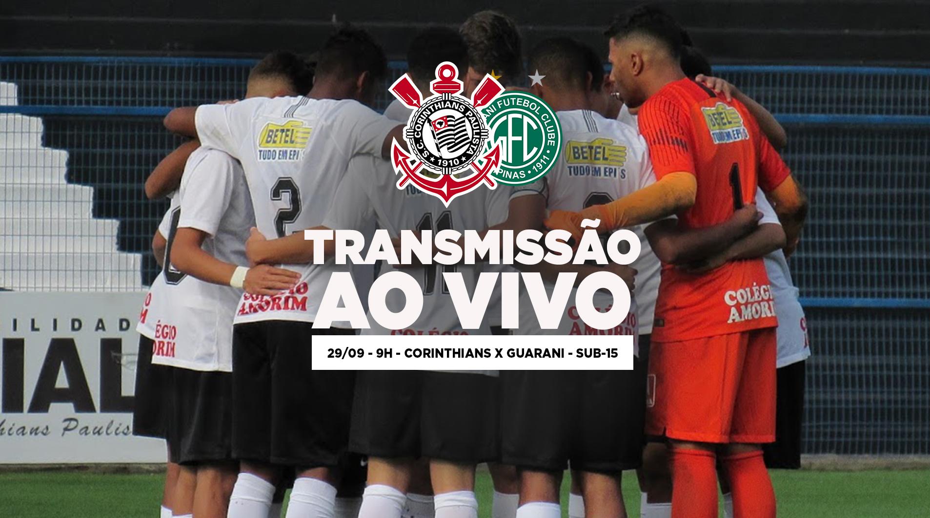 Corinthians x Guarani - Paulistão Sub-15 2018