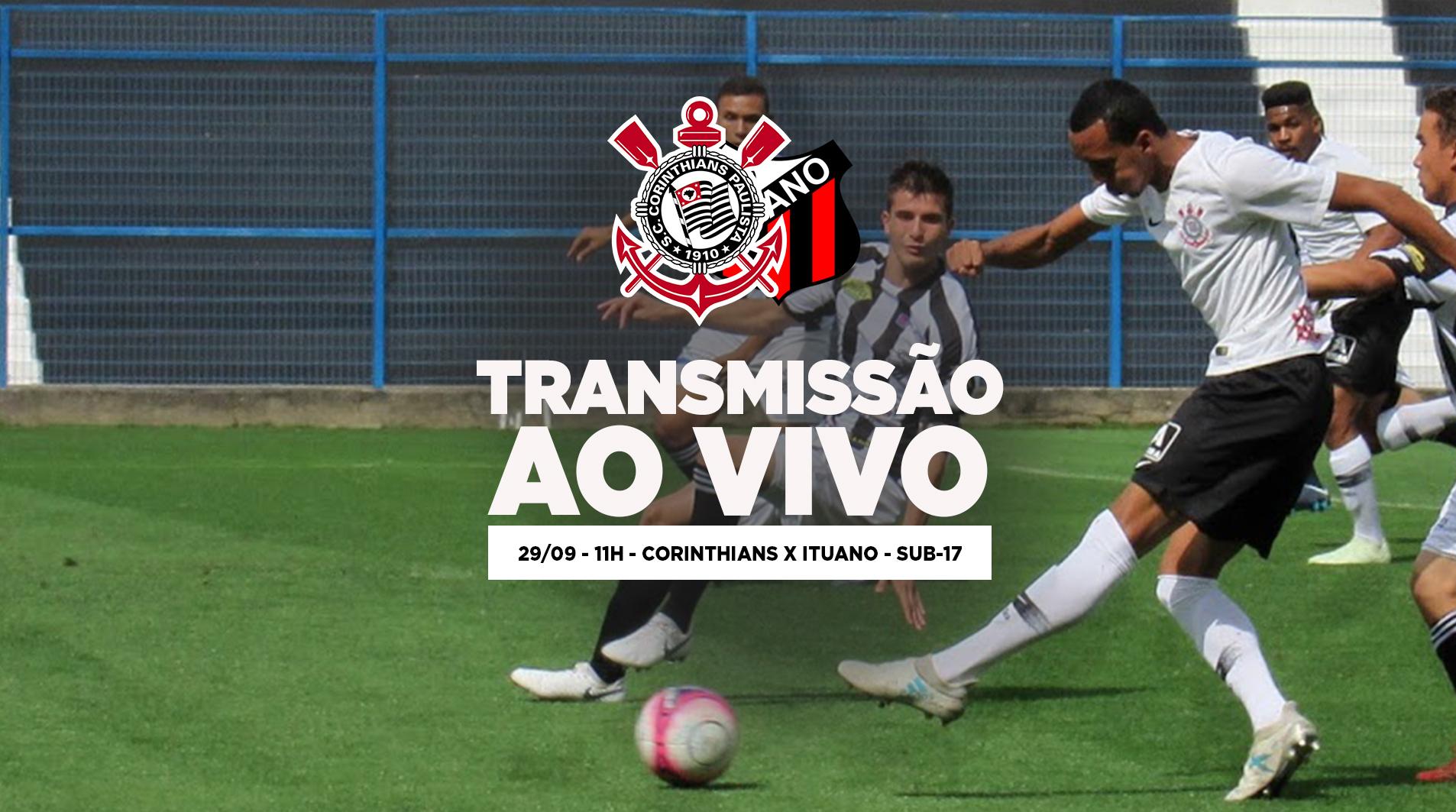 Corinthians x Ituano - Paulistão Sub-17 2018