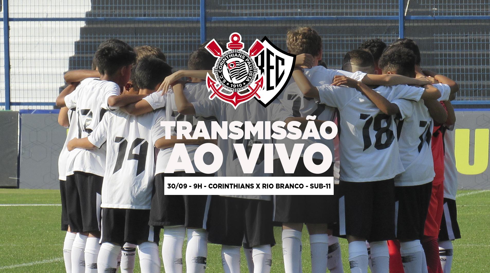 Corinthians x Rio Branco - Paulistão Sub-11 2018