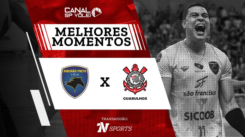 Melhores momentos de Vôlei Ribeirão vs Corinthians-Guarulhos