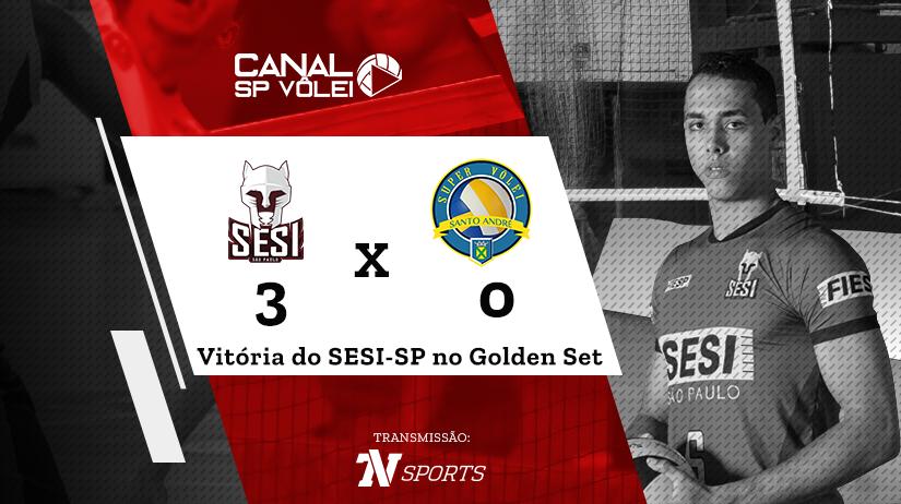 Sesi-SP vs Super Vôlei Santo André