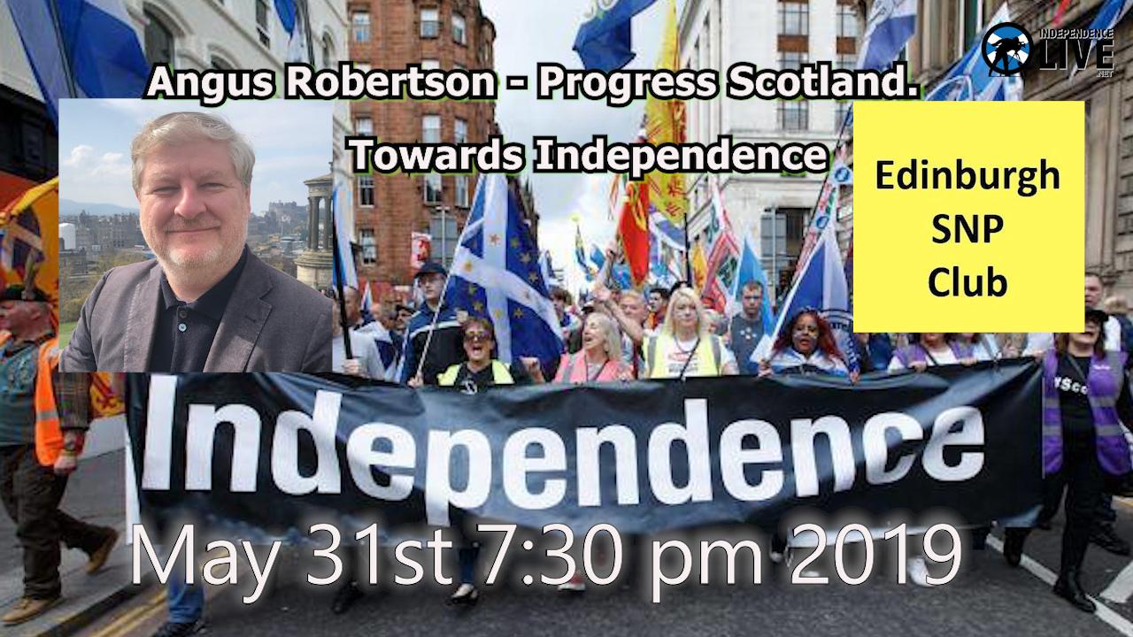 Angus Robertson  - Towards Independence