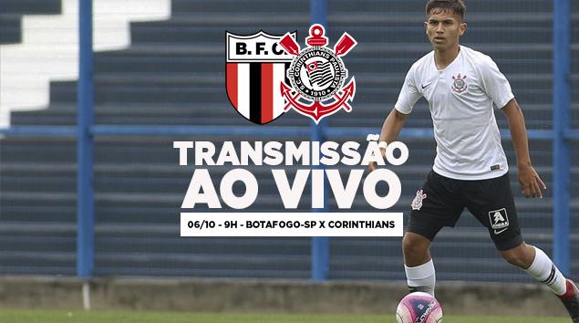 Botafogo x Corinthians - Paulistão Sub-15 2018