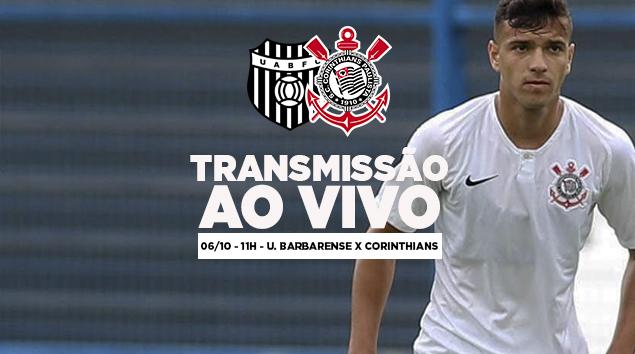 União Barbarense x Corinthians - Paulistão Sub-17 2018