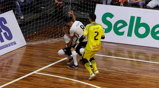 Melhores Momentos - JEC Krona 1x4 Corinthians - Copa do Brasil de Futsal 2018