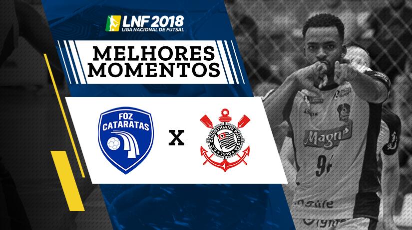 Melhores momentos de Foz Cataratas vs Corinthians