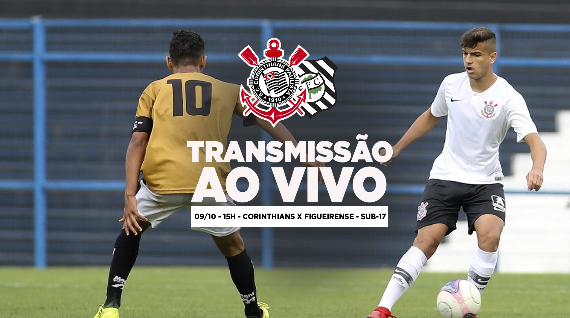 Corinthians x Figueirense - Copa do Brasil Sub-17