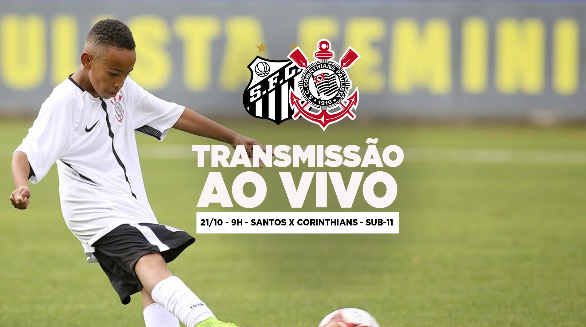 Santos x Corinthians - Paulistão Sub-11