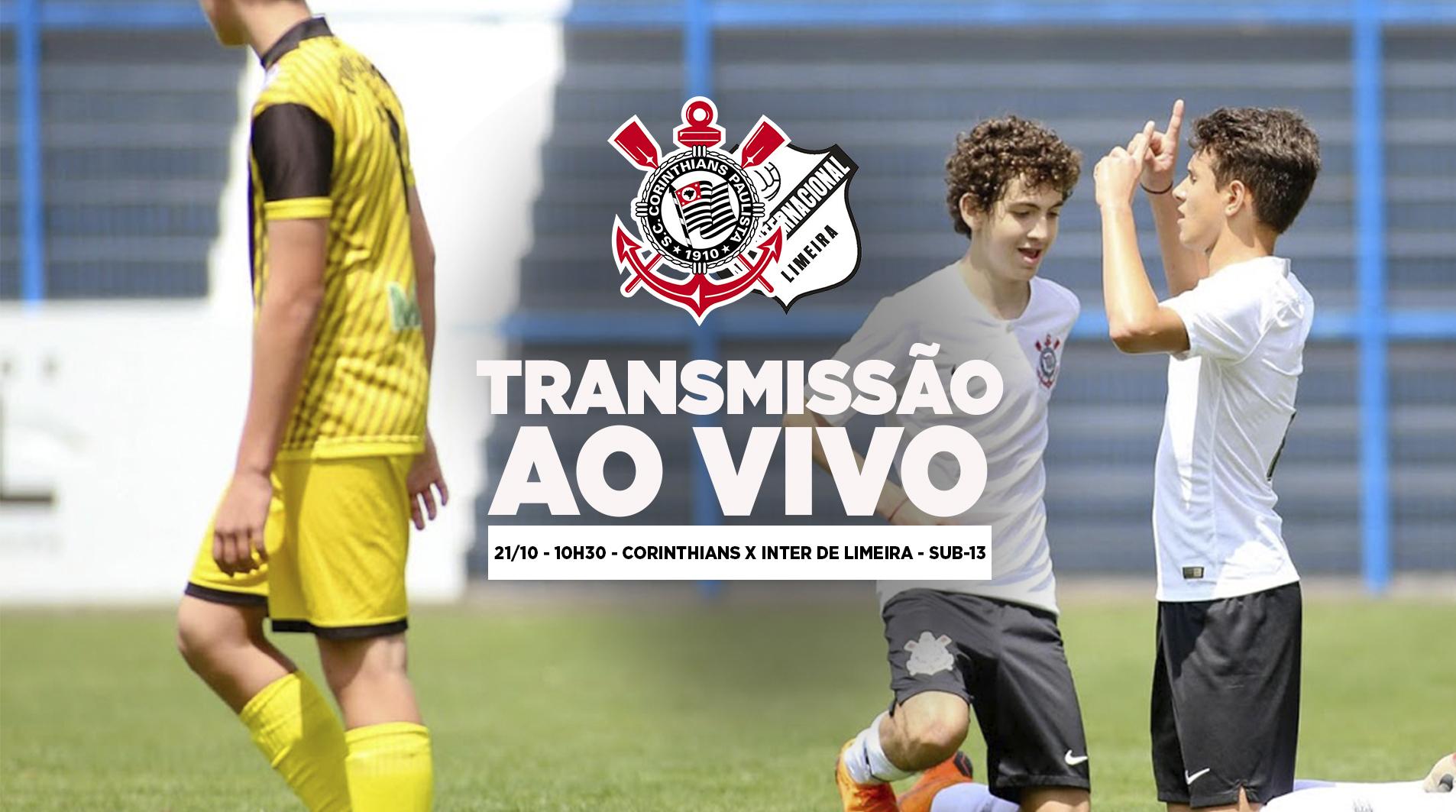 Corinthians x Internacional de Limeira - Paulistão Sub-13
