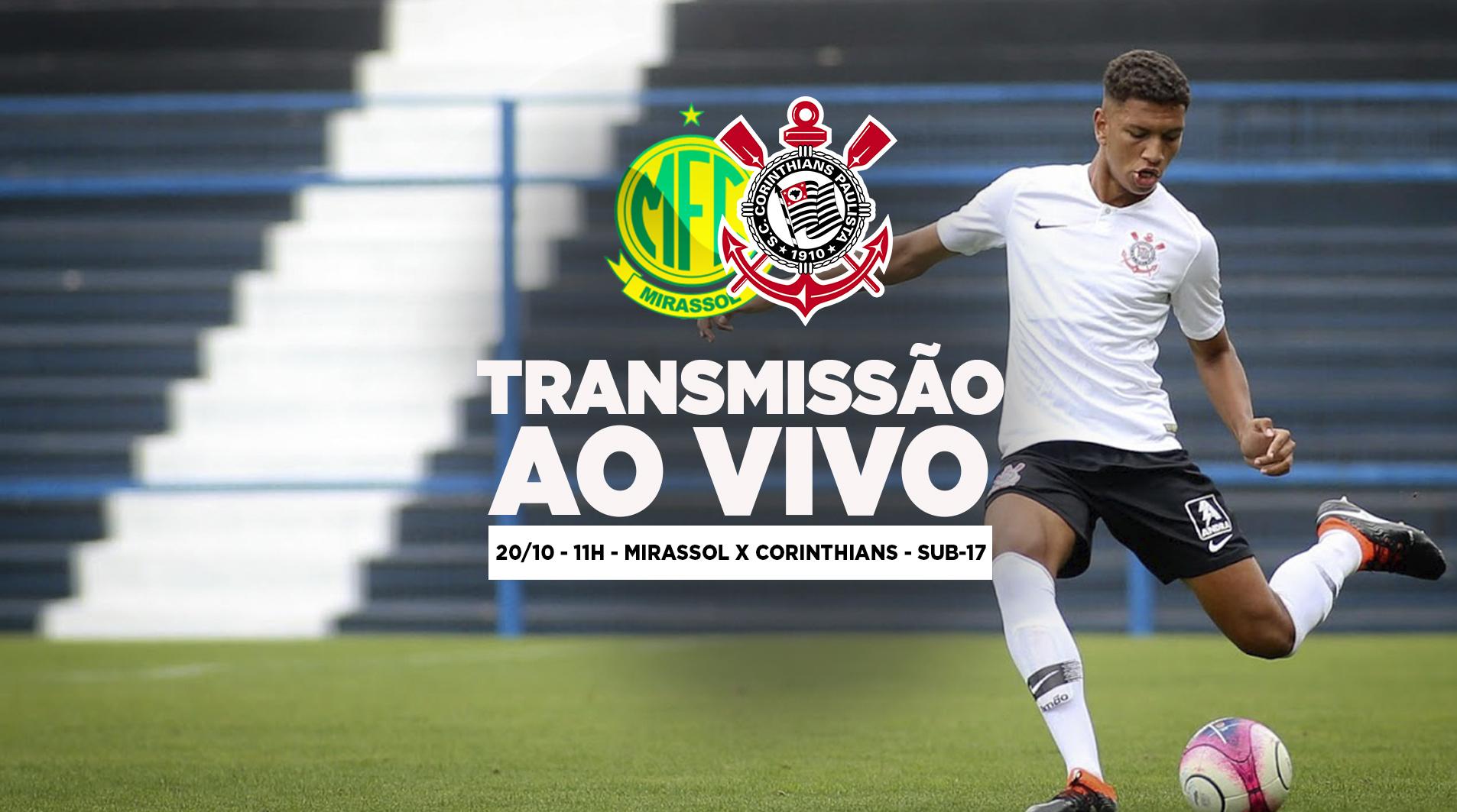 Mirassol x Corinthians - Paulistão Sub-17