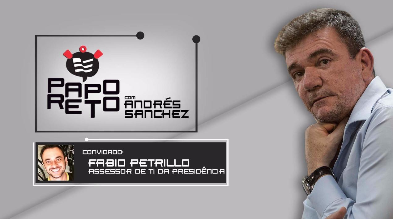 Papo Reto com Andrés Sanchez e Fabio Petrillo