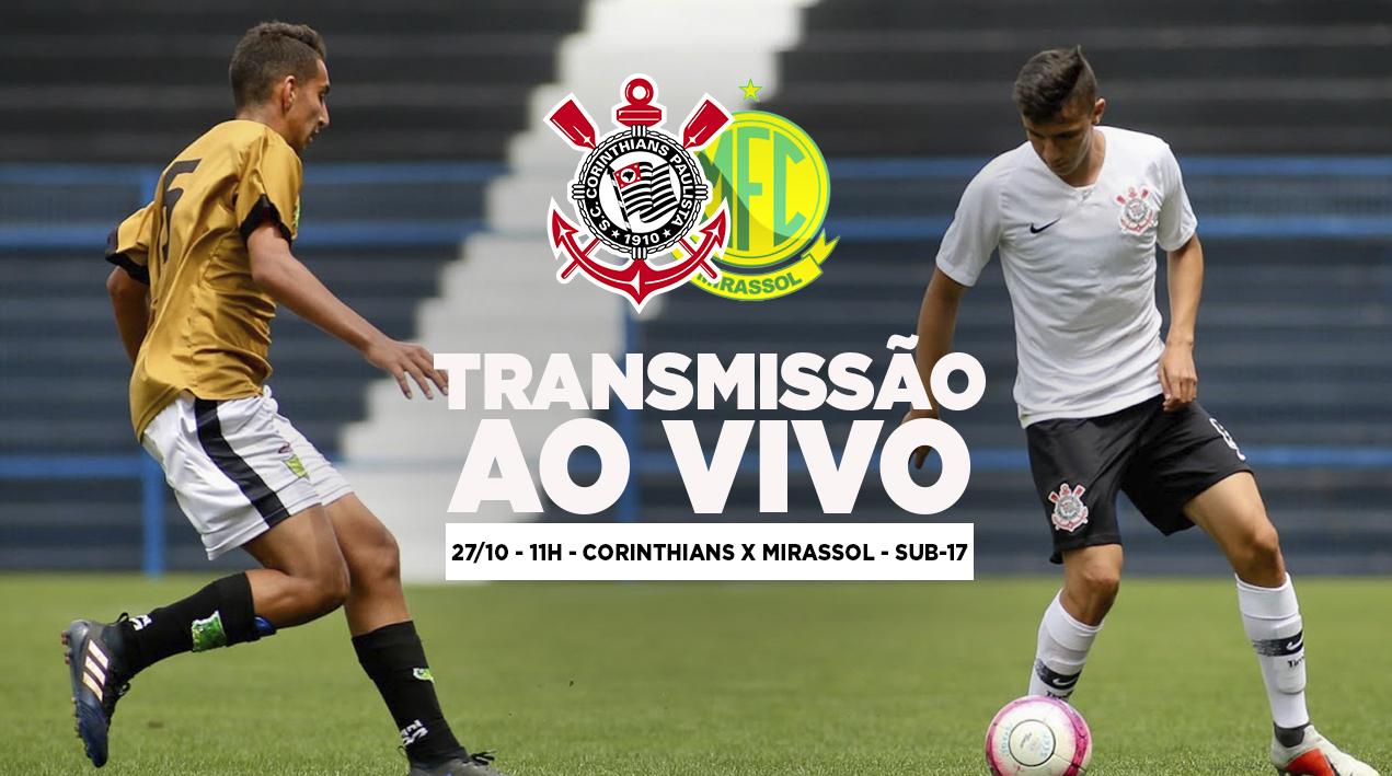 Corinthians x Mirassol - Paulistão Sub-17