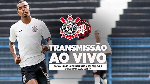 Corinthians x Atlético/PR - Copa do Brasil Sub-17