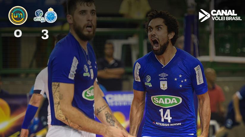Vôlei UM Itapetininga vs Sada Cruzeiro Vôlei