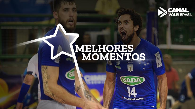 Melhores momentos de Vôlei UM Itapetininga vs Sada Cruzeiro Vôlei