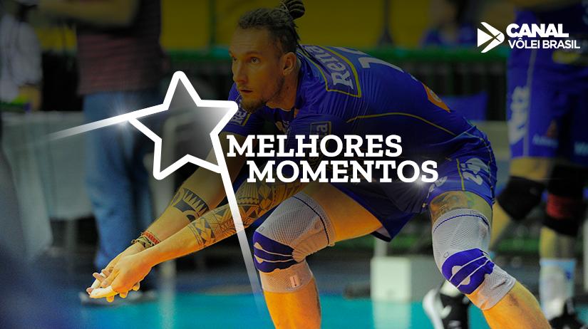 Melhores momentos de Vôlei Renata vs São Judas Voleibol