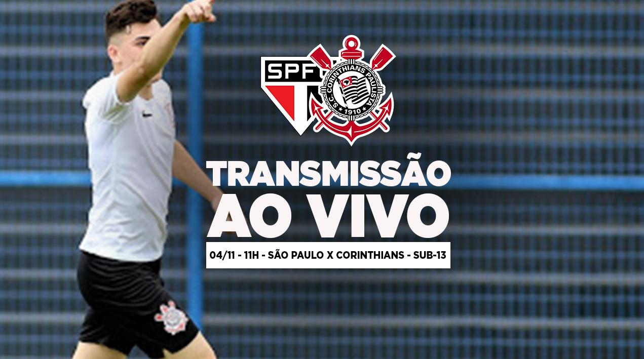 São Paulo x Corinthians - Paulistão Sub-13