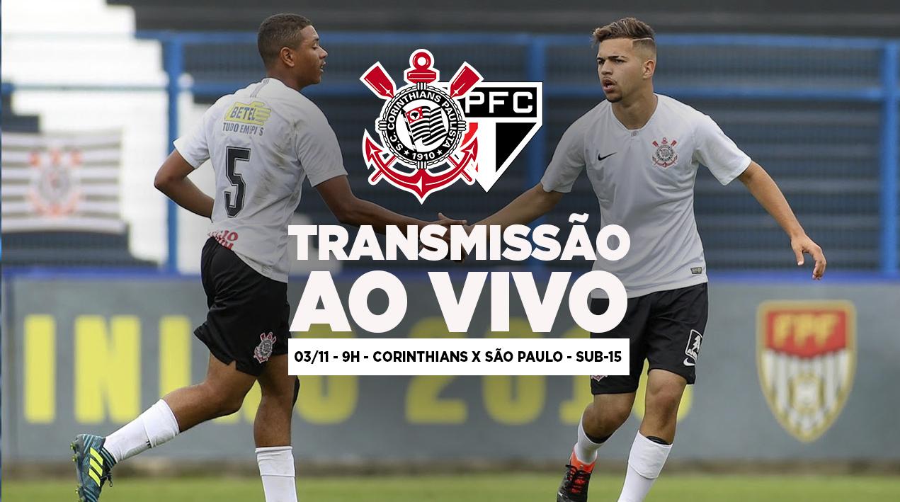 Corinthians x São Paulo - Paulistão Sub-15
