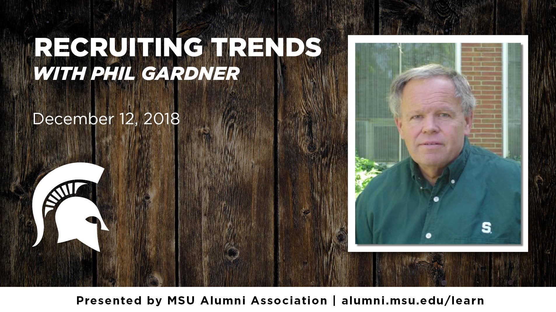 livestream cover image for Phil Gardner | Recruiting Trends 2018