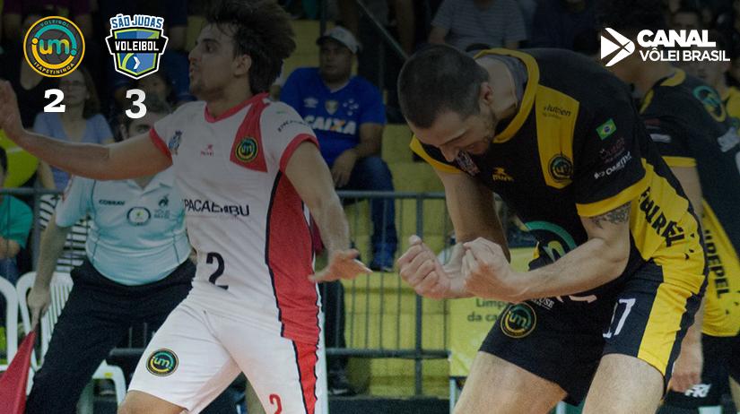 Vôlei UM Itapetininga vs São Judas Voleibol