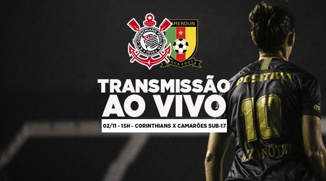 Corinthians x Camarões Sub-17