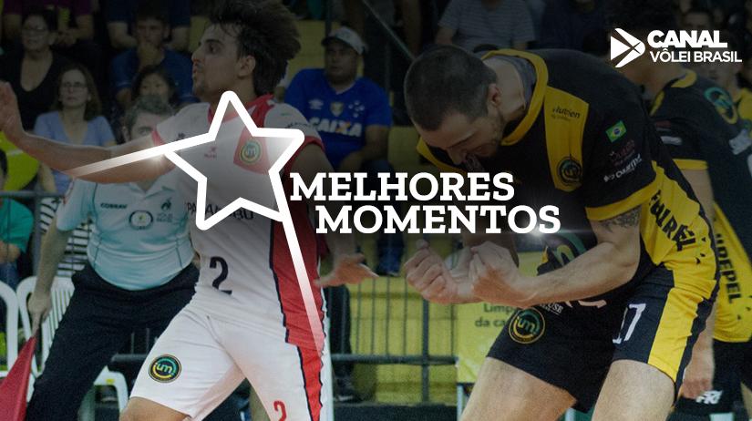 Melhores momentos de Vôlei UM Itapetininga vs São Judas Voleibol