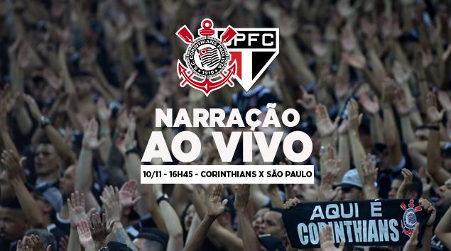 Resultado de imagem para - Corinthians x São Paulo - Narração