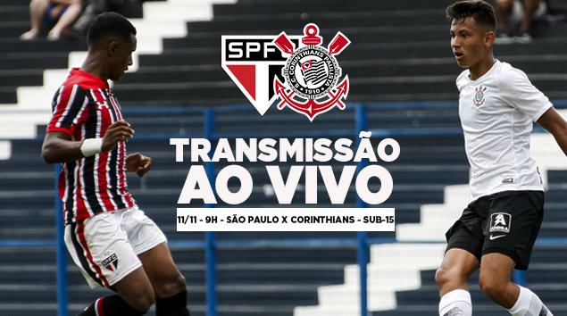 São Paulo x Corinthians - Paulistão Sub-15