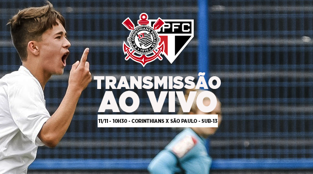 Corinthians x São Paulo - Paulistão Sub-13