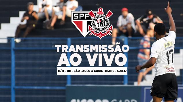 São Paulo x Corinthians - Paulistão Sub-17