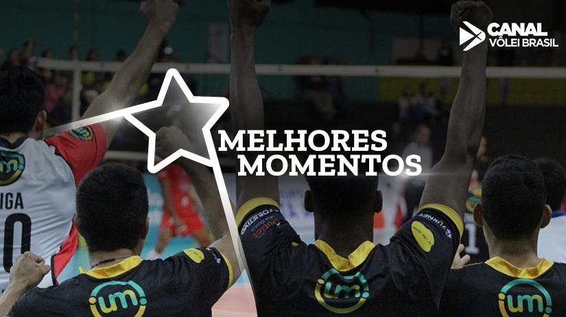 Melhores momentos de São Francisco Saúde/Vôlei Ribeirão vs Vôlei UM Itapetininga