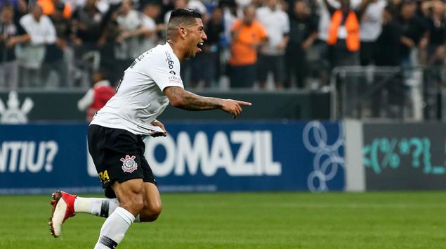 Gol - Corinthians 1x1 São Paulo - Brasileirão 2018