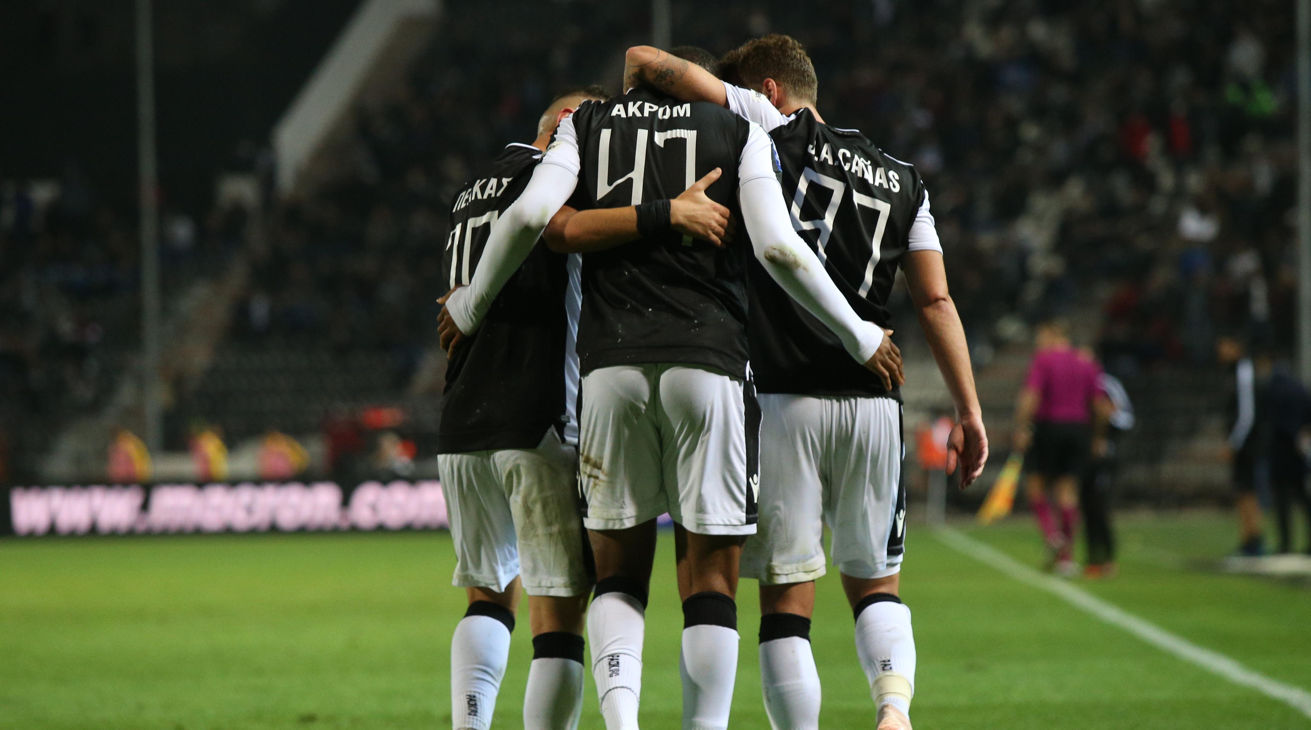 Моменты матча ПАОК-«Панетоликос»