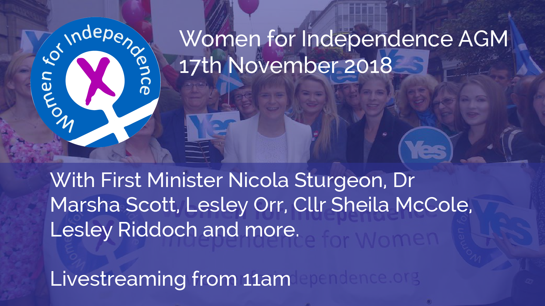 Women for Independence AGM