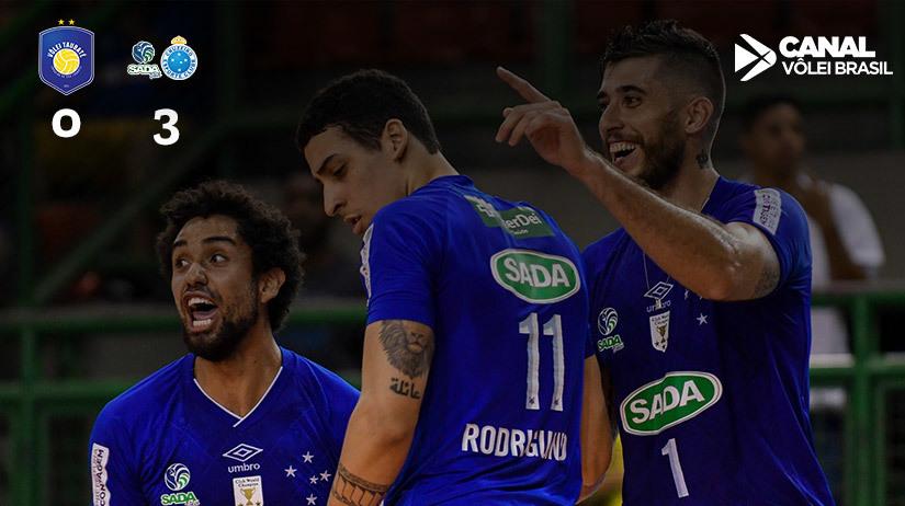 EMS Taubaté Funvic vs Sada Cruzeiro Vôlei